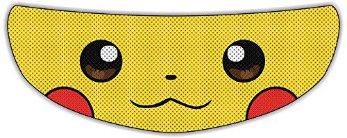 Pikachu Helmet Visor Sticker Superhero Motorcycle Shield Decal Tint Eyes