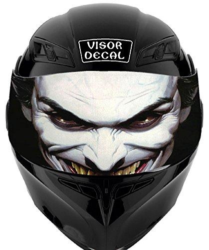 V16 Joker VISOR TINT DECAL Graphic Sticker Helmet Fits Icon Shoei Bell HJC Oneal Scorpion AGV