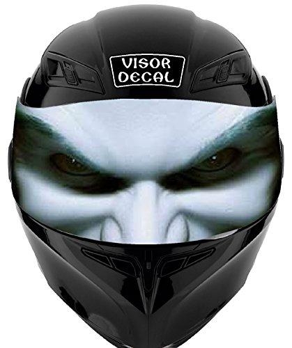 V17 Joker VISOR TINT DECAL Graphic Sticker Helmet Fits Icon Shoei Bell HJC Oneal Scorpion AGV