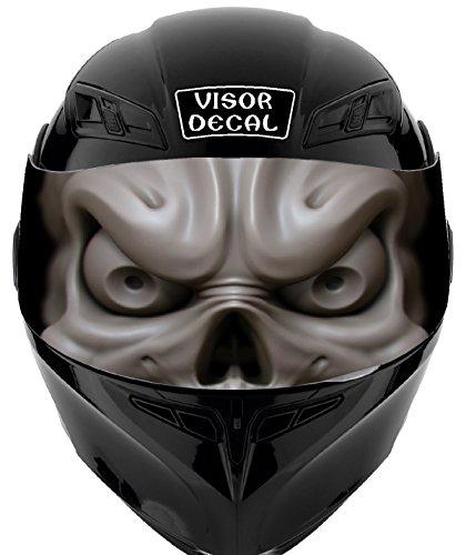 V36 Skull VISOR TINT DECAL Graphic Sticker Helmet Fits Icon Shoei Bell HJC Oneal Scorpion AGV