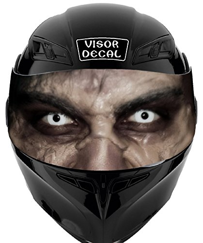V47 Zombie VISOR TINT DECAL Graphic Sticker Helmet Fits Icon Shoei Bell HJC Oneal Scorpion AGV