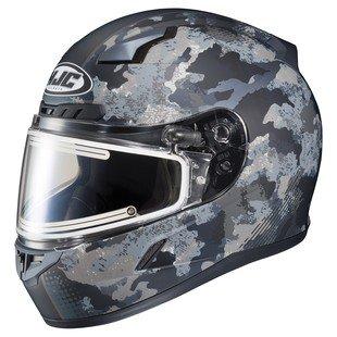 HJC CL-17 Void Electric Snow Helmet Matte BlackCamo MD