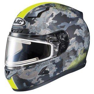 HJC CL-17 Void Electric Snow Helmet Matte Hi-Viz YellowCamo SM