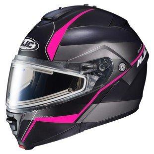 HJC IS-MAX 2 Mine Electric Snow Helmet Matte BlackPink LG