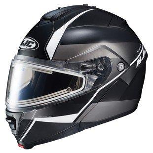 HJC IS-MAX 2 Mine Electric Snow Helmet Matte BlackWhite LG
