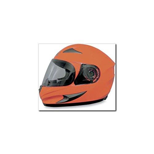 AFX FX-90 Solid Helmet  Size Md Distinct Name Safety Orange Primary Color Orange Gender MensUnisex Helmet Type Full-face Helmets Helmet Category Street 0101-5750