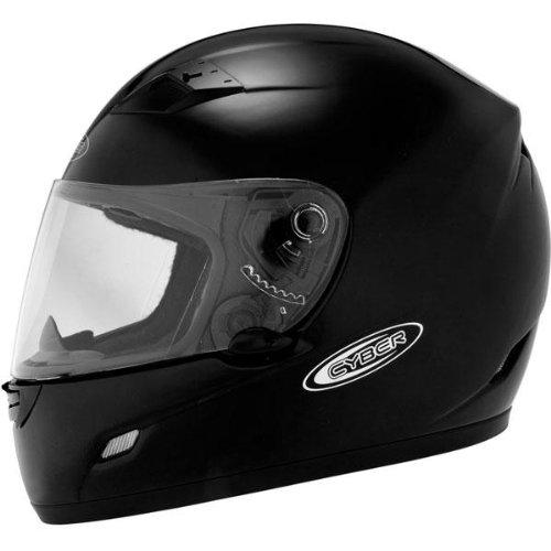 Cyber Helmets US-39 Solid Helmet  Size Md Primary Color Black Distinct Name Black Helmet Type Full-face Helmets Helmet Category Street Gender MensUnisex 640712
