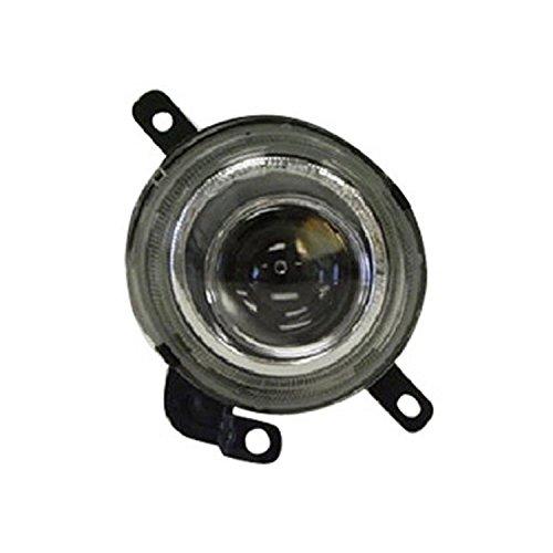 CPP Passenger Side Clear Lens Fog Light Assembly for 2003-2006 Kia Magentis Optima