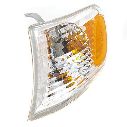 CarPartsDepot 2001-2002 Kia Magentis Front Driver Left Corner Light Lamp w Amber Reflector