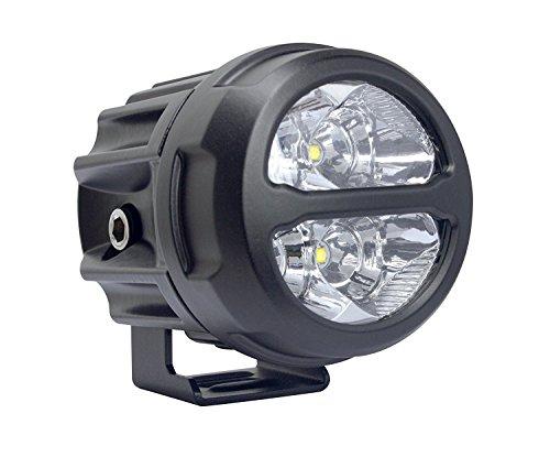 lightronic 3 inch Round Led Fog Lights 20W Cree Spot Beam Led Motorcycle Headlight