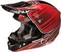 Fly Racing Kinetic Pro Trey Canard Replica Helmet Red Xxlxx-Large