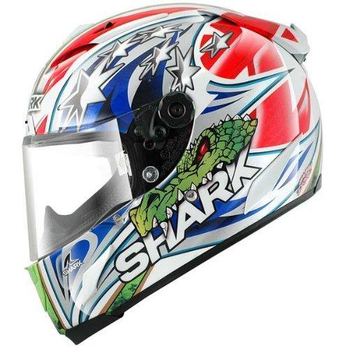 Shark Race-R Pro Corser Replica Helmet WhiteRedGreen X-Large