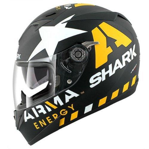 Shark S700 Redding Replica Helmet Matte BlackRedGreen X-Large