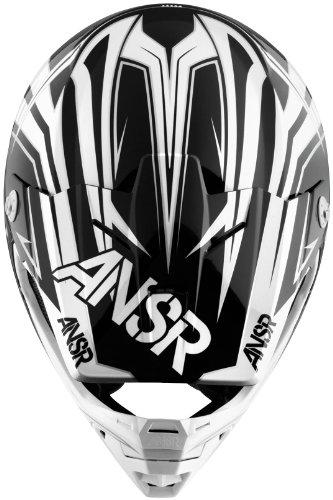 Answer Helmet Visor for Evolve Graphics Helmet - Spector BlackWhite 454652