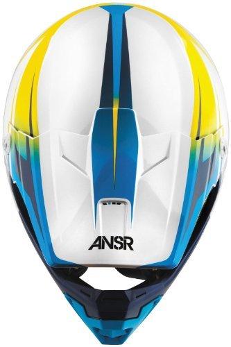 Answer Helmet Visor for Evolve Graphics Helmet - Spectrum WhiteYellow 454651