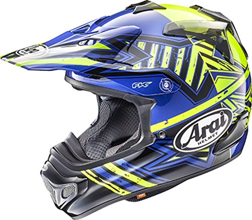 Arai VX-Pro 4 Shooting Star Blue Motocross Helmet - Large