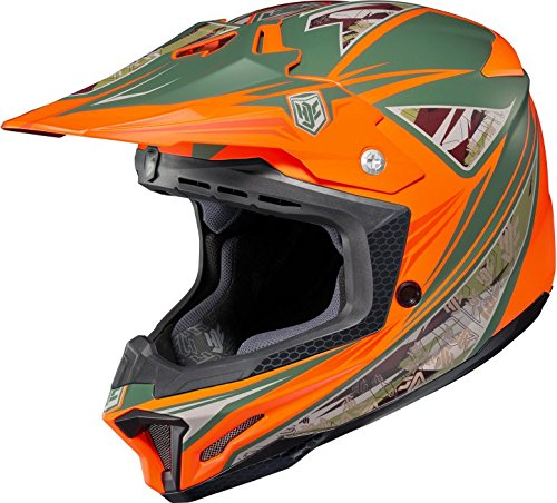 HJC CL-X7 Cross Up MC6 Motocross Helmet - Large
