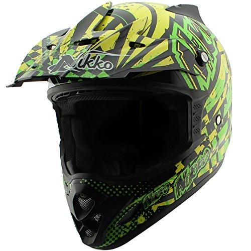 Nikko N719 HyperFreak Multicolor Motocross Helmet - Large