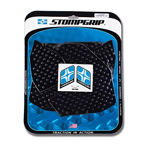 Stompgrip Yamaha FZ-09 2014 Traction Pad Tank Kit - Black