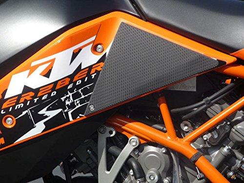 Techspec Tank Grips - KTM Super Enduro 950 - Techspec 62-0018-SS - Snake Skin - Black