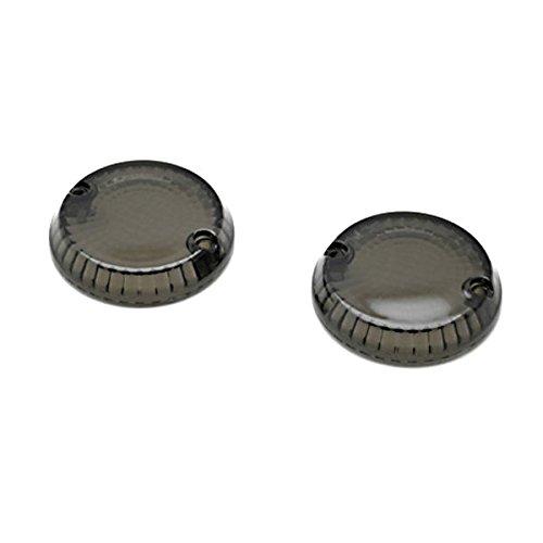 Krator Smoke Turn Signal Lens Lenses Indicator Blinkers For Kawasaki Eliminator 900 1985-1986