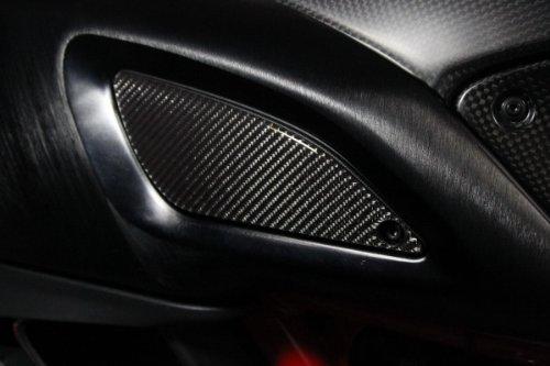 DUCATI Diavel Real Carbon Fiber sides tank trim sticker cover left  right