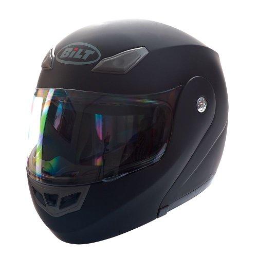 BILT Demon Modular Motorcycle Helmet - 3XL Matte Black