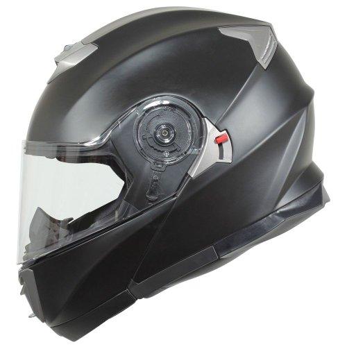 BILT Evolution Modular Motorcycle Helmet - XL Matte Black