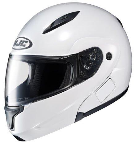 HJC CL Max II Bluetooth Ready Modular Motorcycle Helmet White L