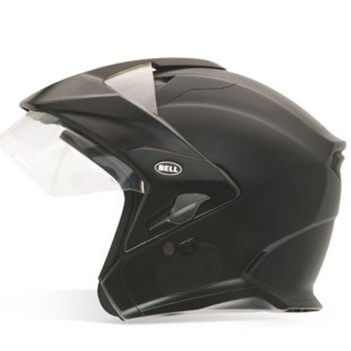 Bell MAG-9 Open Face Motorcycle Helmet - Solid Matte BlackX-Large