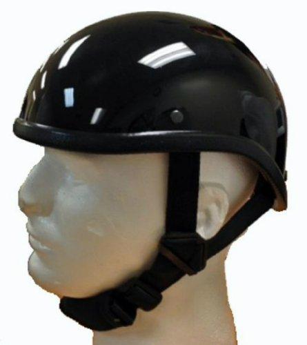 Gladiator Style Novelty Helmet Shiny Black Size Large