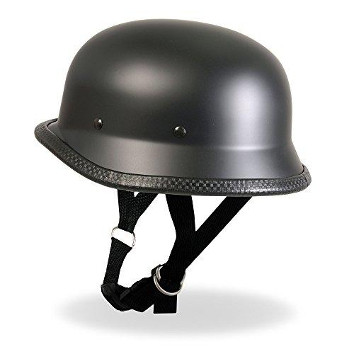 Hot Leathers German Style Novelty Helmet Matte Large