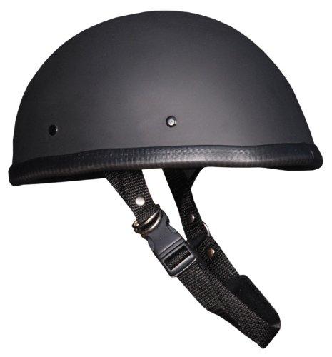 Novelty Helmet Eagle Flat Black Large
