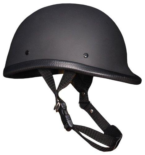 Novelty Helmet Hawk Flat Black