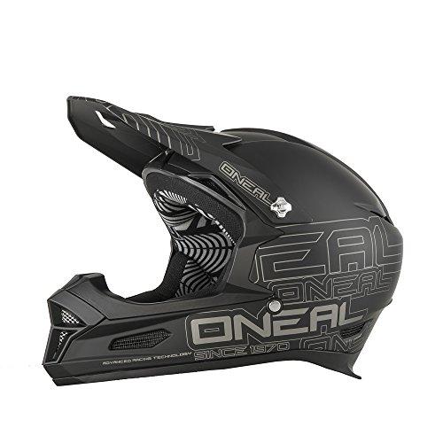 ONeal Fury RL II BMX or Mountain Bike Helmet Matte Black Medium