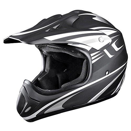 Yescom DOT Outdoor Adult Full Face MX Helmet Motocross Off-Road Dirt Bike Motorcycle ATV M