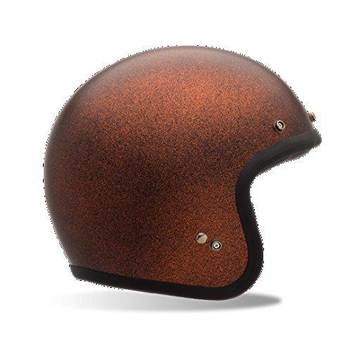 Bell Matte Custom 500 Touring Motorcycle Helmet - Orange Flake  X-Small
