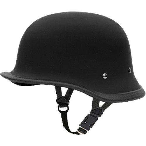 Daytona Big German BasicCustom Novelty Touring Motorcycle Helmet - Dull Black  X-Large