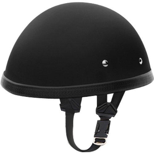 Daytona E Z Rider BasicCustom Novelty Touring Motorcycle Helmet - Dull Black  Large