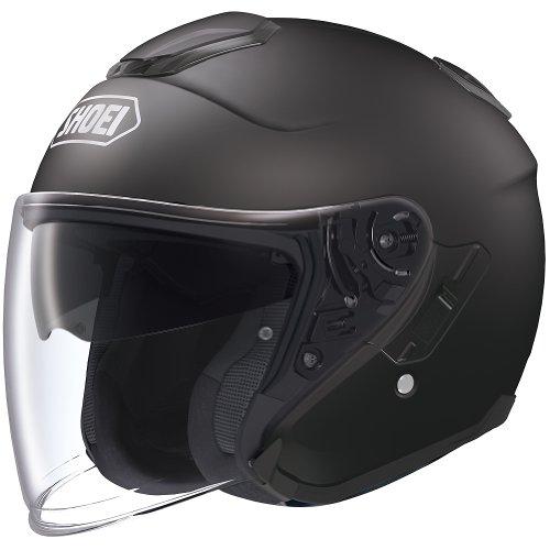 Shoei Solid J-Cruise Touring Motorcycle Helmet - Matte Black  X-Large