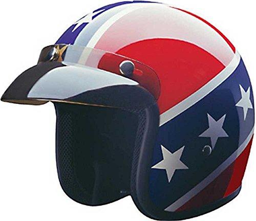 HCI Rebel DOT Motorcycle Helmet 10-015