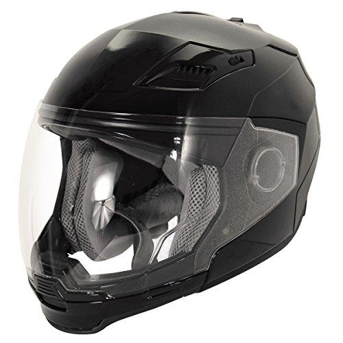 Hawk Evolution 2-IN-1 Black Modular Helmet - X-Large