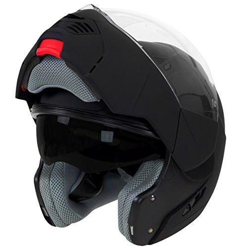 Hawk ST-1197 InFlux Black 2 in 1 Modular Helmet - Medium