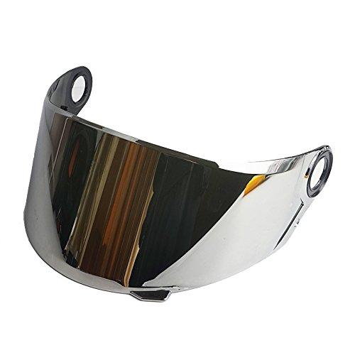 LS2 Anti-Scratch FF358 FF385 FF396 Motorcycle Helmet Visor Face Shield Silver