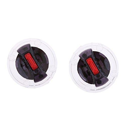 MonkeyJack Pair Motorcycle Helmet Visor RightLeft Mounting Fix Base Rotate Switch for LS2 Helmet