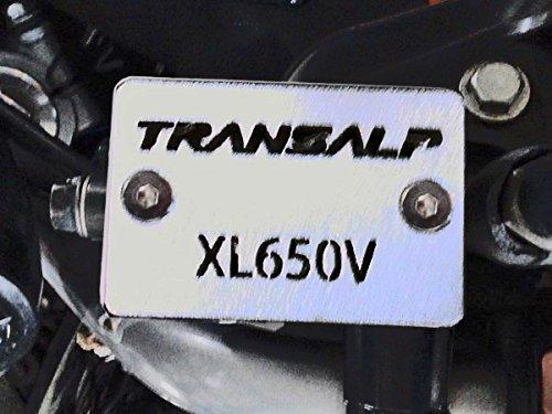 Honda Transalp XL650V brake fluid reservoir cover