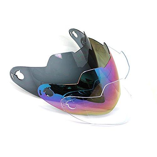 1Storm Dual Sports Motorcycle Motocross MX Helmet Visor Shield for Brand 1Storm Helmet Model HGXP14