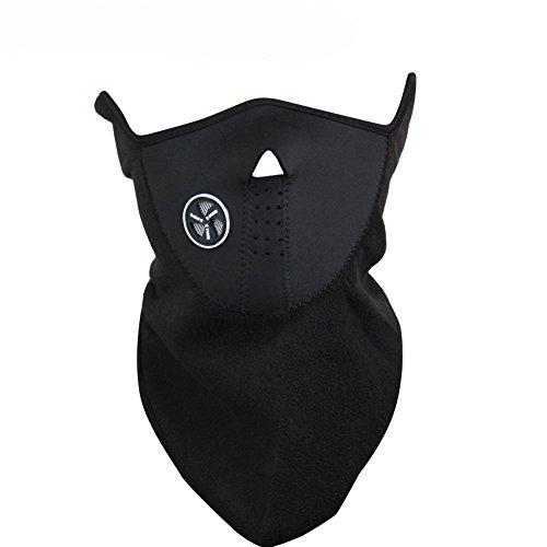 WOWOWO Neoprene Winter Neck Warm Face Mask Veil Sport Motorcycle Ski Bike Biker Thermal Fleece Half Face Mask Facemask Snowboard Snowmobile Snow