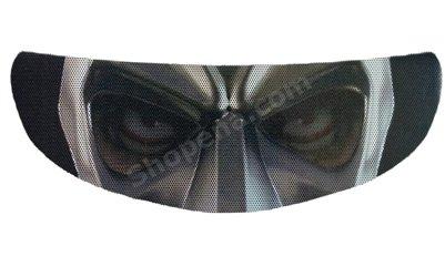 Batman Mask Motorcycle Helmet Shield Sticker SkullSkins