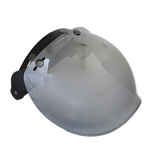 Jili Online Motorcycle Open Face Helmet Visor Lens Shield Protector Anti-scratch Anti-UV High Performance